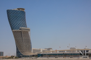 Abu Dhabi - The Capital Gate