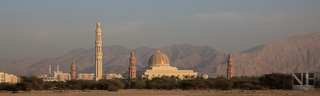 Muscat (Oman) - Sultan Qaboos Grand Mosque