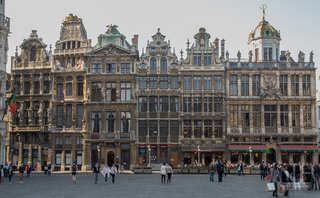 Grand Place in Br�ssel, Belgien
