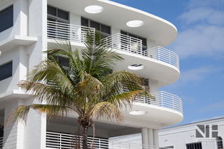 Art Deco District in Miami Beach, Floria, USA